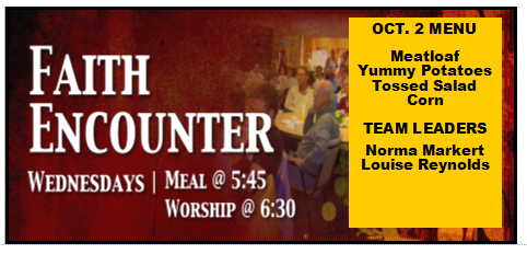 faith encounter oct 2