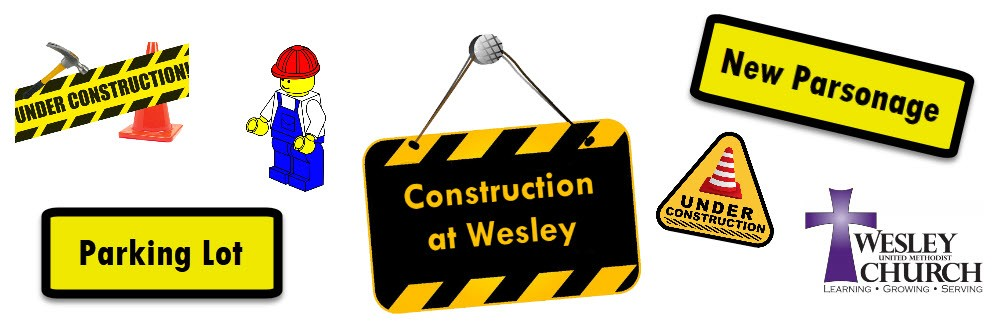 Construction at Wesley