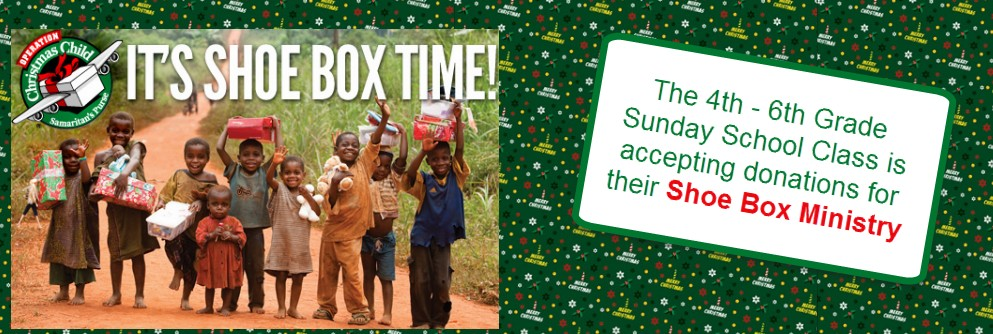 The Shoe Box Ministry