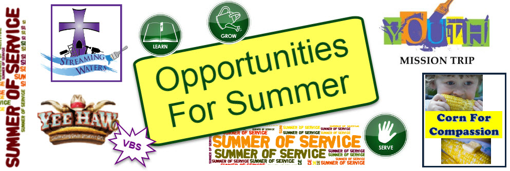 Opportunities For Summer
